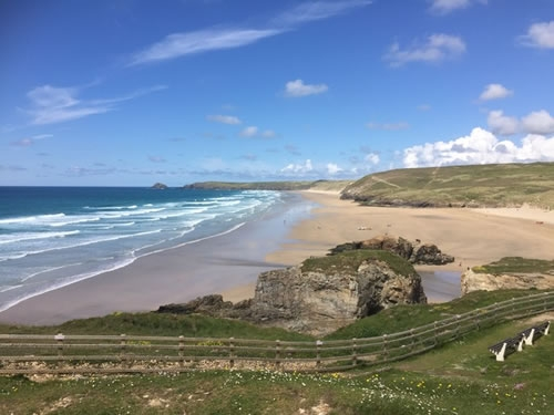 Cornwall has some of the finest beaches in the country
