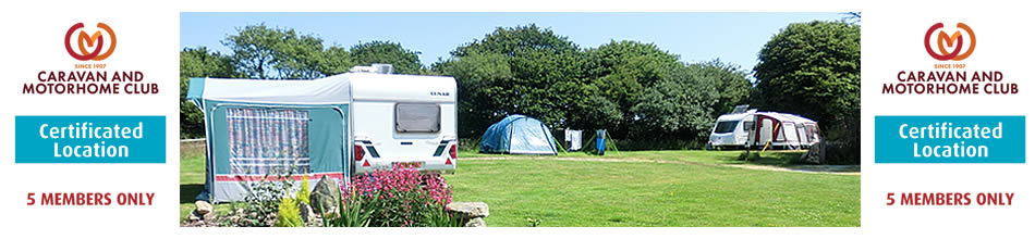 Caravan and Motorhome Club Certified Location 5 Members only