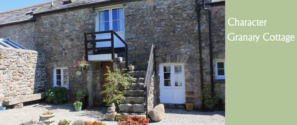 Granary Cottage, self catering holiday cottage in Cornwall